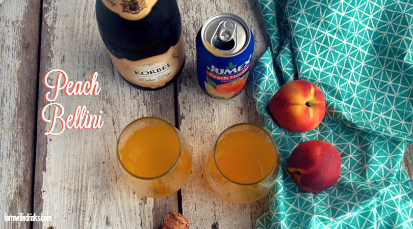 Need a brunch cocktail alternative to mimosas? Look no further than the Peach Bellini.