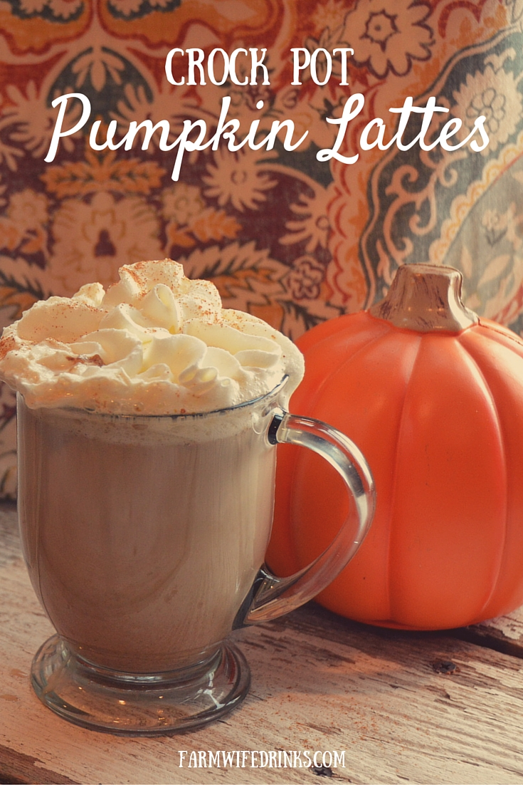 Enjoy the warm flavors of this seasonal pumpkin coffee shop favorite in your very own kitchen with the help of your crock pot. This crock pot pumpkin latte recipe is simple to make.