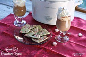 Crock Pot Peppermint Cocoa