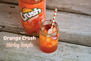 Orange Crush Shirley Temple