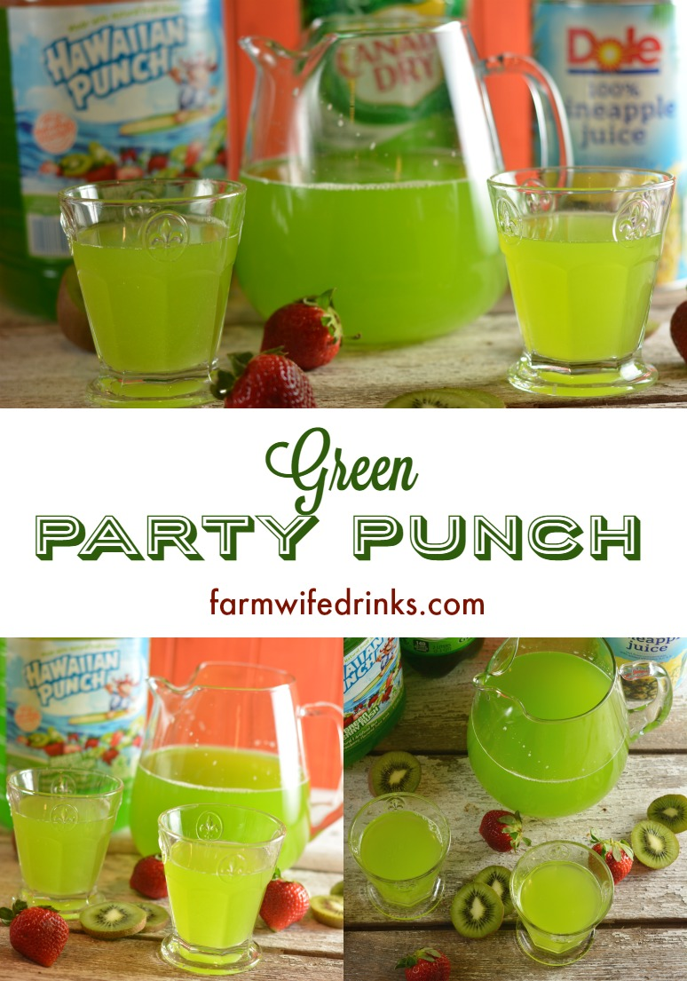 Green Punch - The Farmwife Drinks