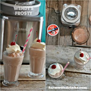 Homemade Copycat Wendy's Frosty Recipe