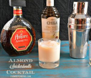 Almond Snickerdoodle Cocktail