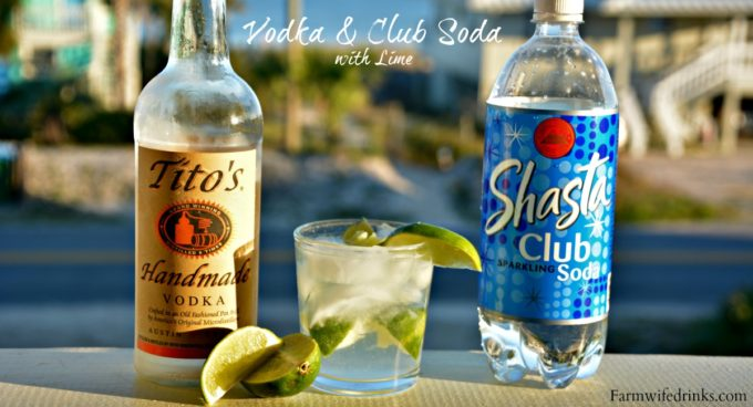 My go-to low calorie drinks is vodka and club soda with lime. It is the perfect cocktail recipe for a day at the beach.