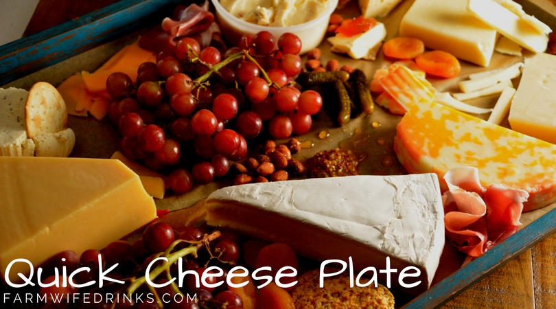 How to make a quick cheese plate