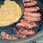 Nothing beats a good brat. I now have my favorite way to make beer brats and onions with this grilled beer brats in a beer hot tub recipe.