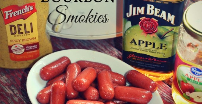 Crock Pot Apple Bourbon Smokies