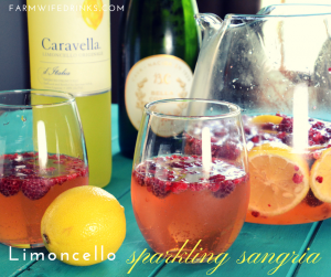 Limoncello Sparkling Sangria