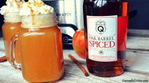 Warm Vanilla Wassail with Don Q Oak Barrel Spiced Rum