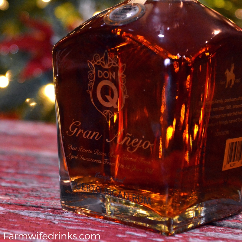 If you love eggnog and want to make a special homemade version, this homemade eggnog recipe is decadent and rich and pairs perfectly with Don Q Gran Anejo Rum.