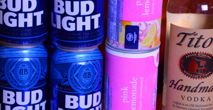 Hop, Skip, Go Naked – Bud Light Beer Punch