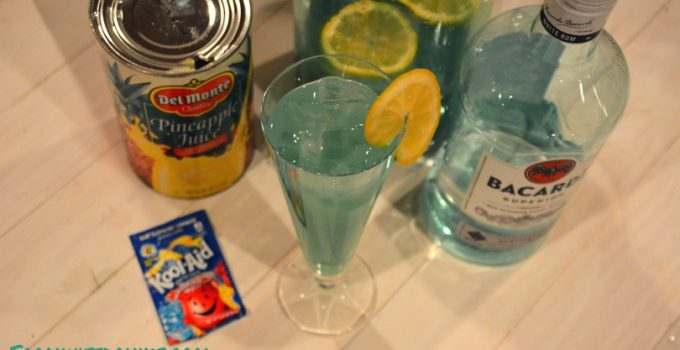 Rum Punch – Tidal Wave or Shark Bowl Punch