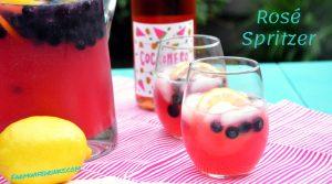 Rosé Spritzer – Lemonade Rosé Sangria