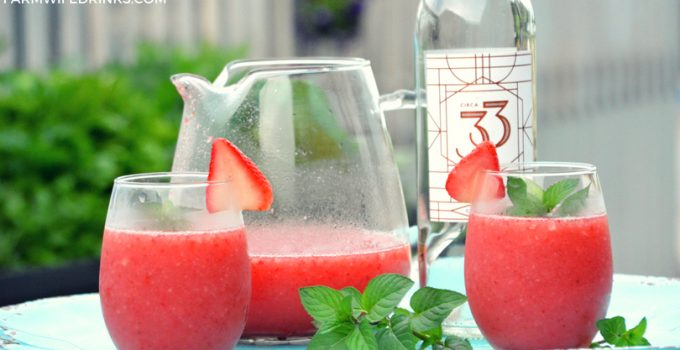 Frosé – Frozen Rosé Wine