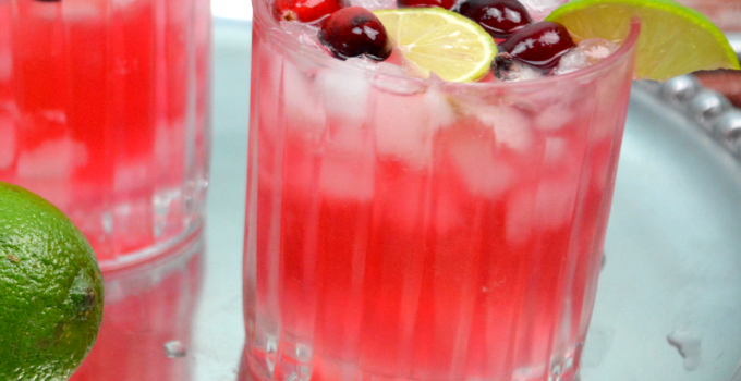 Low Carb Cranberry and Vodka