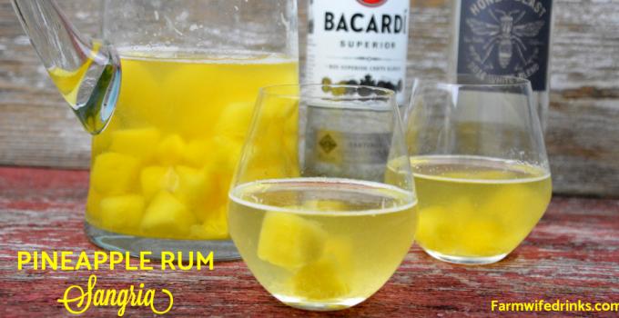 Pineapple Rum Sangria